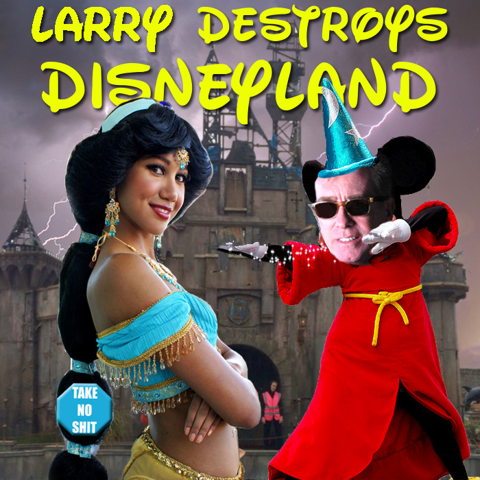 Episode 9: Larry Destroys Disneyland